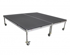 8' x 8' Rolling Riser - Top View