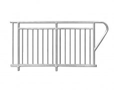Extended ADA Ramp Guardrail