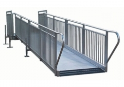 4ft Wide x 16ft Long Exterior Permanent Install ADA Ramp