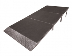 4' Wide x 9' Long Straight Equipment Ramp with 1' x 4' Starter Ramp