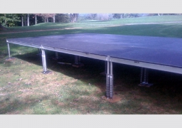 16ft x 32ft Stage with 24in - 36in Adjustable Legs