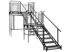 7 Step Adjustable Stair Units