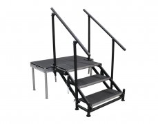 3 Step Adjustable Stair Unit