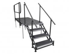 4 Step Adjustable Stair Unit