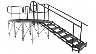7 Step Adjustable Stair Unit