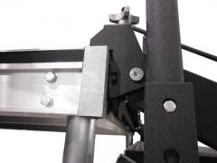 Adjustable Stair Deck Attachment