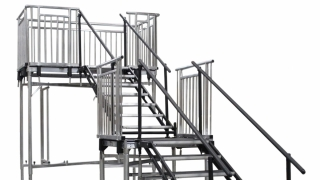 7 Step Adjustable Stair Units