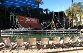 Mountain Dew Tour 2010 Hard Rock Hotel PoolCover By Light Action