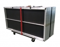 8 Deck Vertical Cart w/ Ratchet Strap