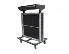 4 x 4 Vertical Deck Cart with Optional Basket