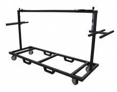 Custom Vertical Deck Cart With Handles