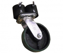 Double Caster Pot With 6 inch Caster