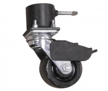 Single Caster Pot With 4 inch Locking Caster