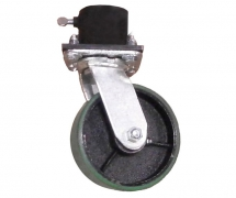 Single Caster Pot With 6 inch Caster