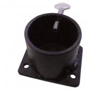 Single Caster Pot Plate