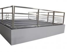 Custom Gray Closure Panels