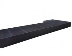 Black Luan Closure Panels