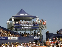 2-Story Structure for Nivea Volleyball Tournament By Light Action