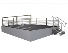 Custom Stage for the Washington Nationals