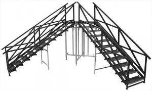 Custom Stair Unit for Adirondack Studios