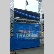 Custom Truss Support System For NASCAR