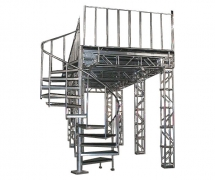 Custom Truss Support System for Trade Show Booth