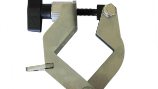 Diagonal Leg Brace Clamp - Closed