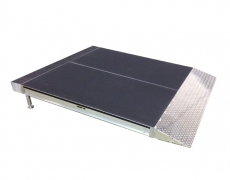 1' x 4' Diamond Plate Starter Ramp