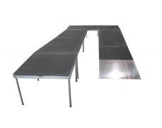 4' x 4' Diamond Plate  Starter Ramp