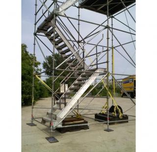 Custom Scaffold Stairs