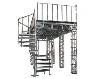 Custom Spiral Stair Unit