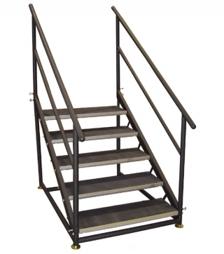 5 Step Free Standing Stair Unit
