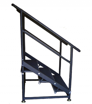 3 Step Free Standing Stair Unit