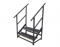 2 Step Free Standing Stair Unit