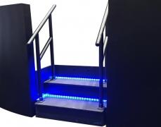2 Step Stair Box w/ LED Lighting