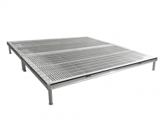 Grated Aluminum Stage