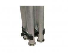 4-Way Leg ClampSide View