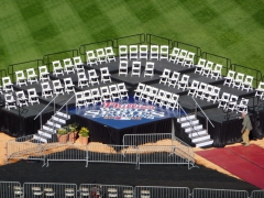 Multi Tiered Riser for the Phillies 2008 World Series Championship