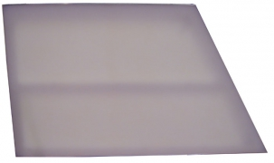 "Natural Polyethylene Milk ""Plexi"" Trapezoid Deck"