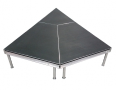Non-Skid Quad Ripple Triangular Stage