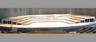 Custom Plyron Musician Risers for Boston Symphony Orchestra