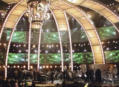 Rolling Risers for  45th Annual Grammy Awards