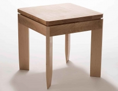 """24"""" x 23"""" x 23"""" Maple Table - Designed by: Victoria Humphrey"""
