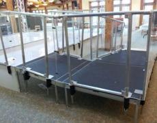 Custom Clear Plexi Guardrail System