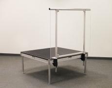 Custom 4' Aluminum Plexi Guardrail