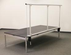 Custom 8' Aluminum Plexi Guardrail