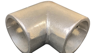 Aluminum Guardrail Corner Connector