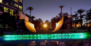 Mountain Dew Tour 2010 Hard Rock Hotel Pool Cover By Light Action