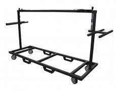 Custom Vertical Deck Cart With Handles
