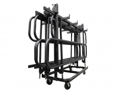 Vertical Guardrail Cart